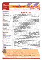 LRI - Novembre 2012 - Retour de Cuba