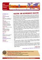 LRI - Octobre 2012 - Palestine: une responsabilité collective