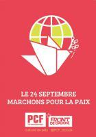 Le 24 septembre, marchons pour la paix !