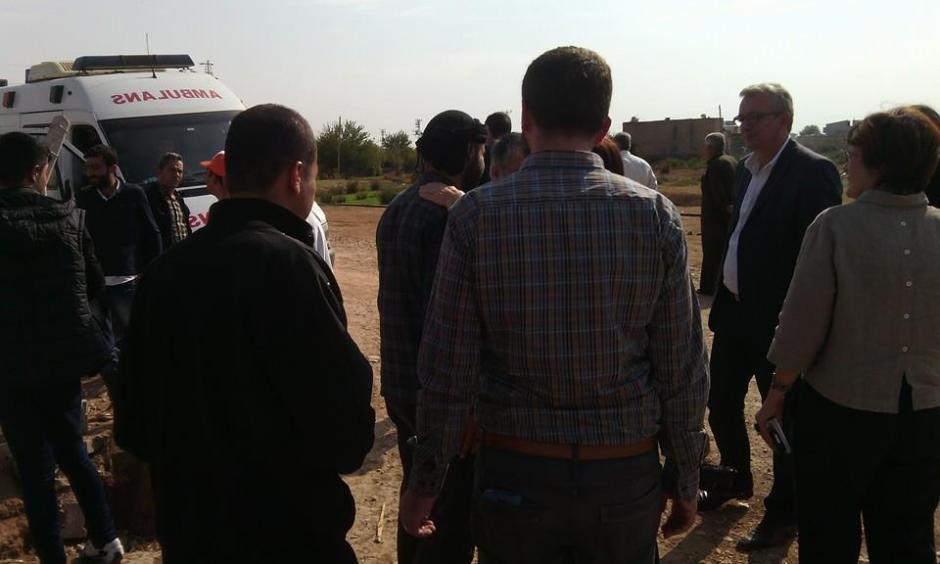 #PCF : delegation de retour du KURDISTAN DE TURQUIE #kobane