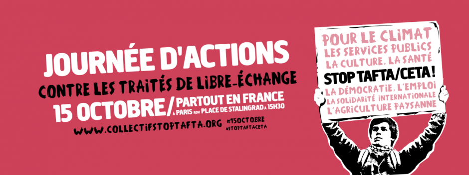 Journée d'actions contre Tafta/Ceta