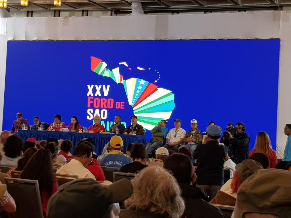 Forum de São Paulo Pour la paix, la souveraineté et la prospérité des peuples