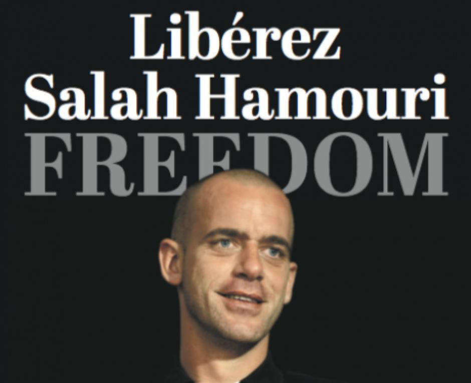 SALAH HAMOURI : Un an de détention arbitraire pour notre concitoyen, défenseur des prisonniers politiques palestiniens, que les autorités françaises ont abandonné à leur sort (PCF)
