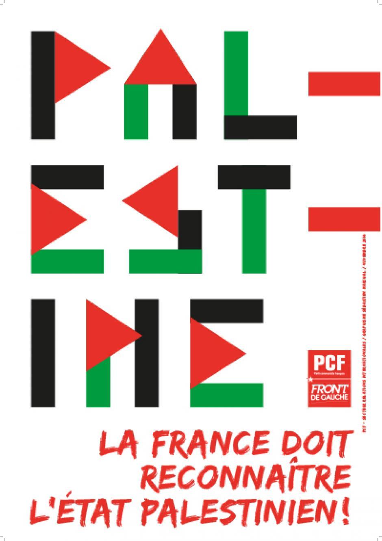 Reconnaissance de l'État palestinien : «  C'est la voix du droit qui l'a emporté » (Pierre Laurent//#pcf)