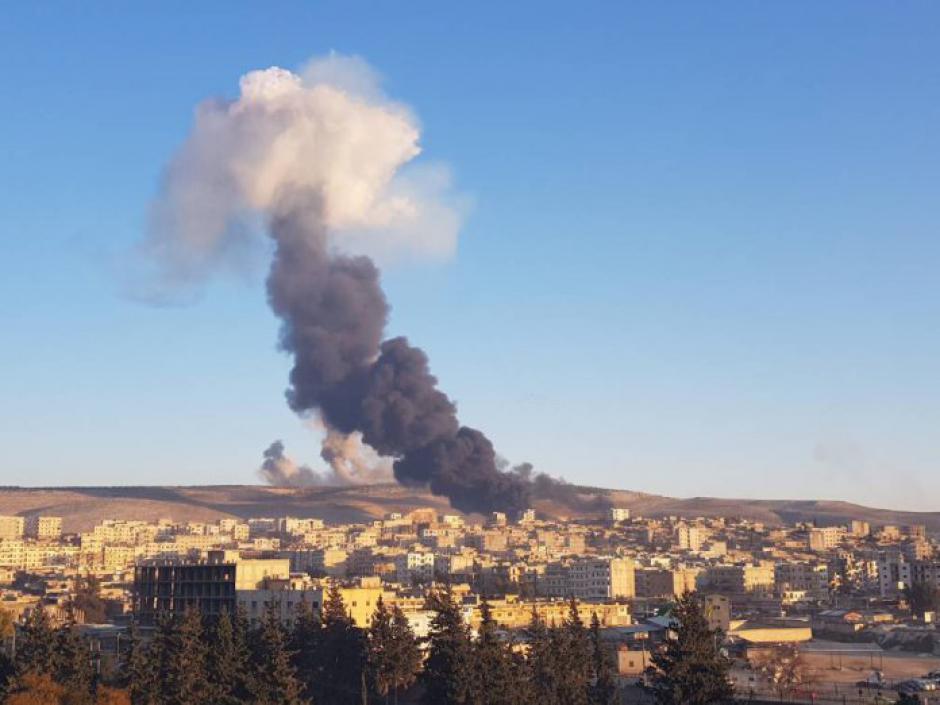 Massacre d'Afrin : « Un massacre organisé, une guerre totale contre les kurdes » (Pierre Laurent)
