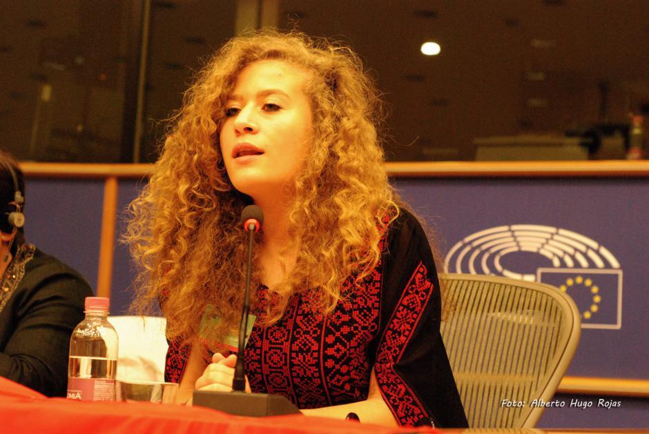 Ahed Tamimi interdite de visite en Europe : la France doit protester auprès de Tel Aviv