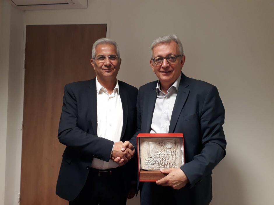 Rencontre PCF-AKEL: La question chypriote au coeur des échanges