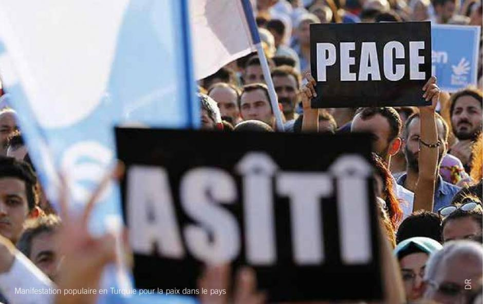 Solidarité avec les peuples de Turquie
