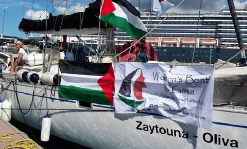 Bateau des Femmes pour Gaza arraisonné : Que François Hollande intervienne auprès du gouvernement israélien pour libérer les messagères de la paix