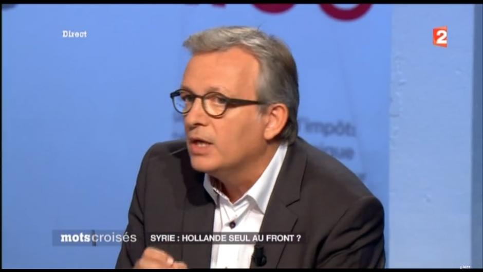 Syrie - Pierre Laurent était l'invité de mots-croisés sur France 2