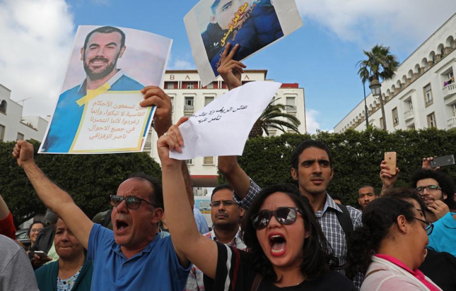 Indignation du PCF suite aux lourdes condamnations des leaders du Hirak au Maroc