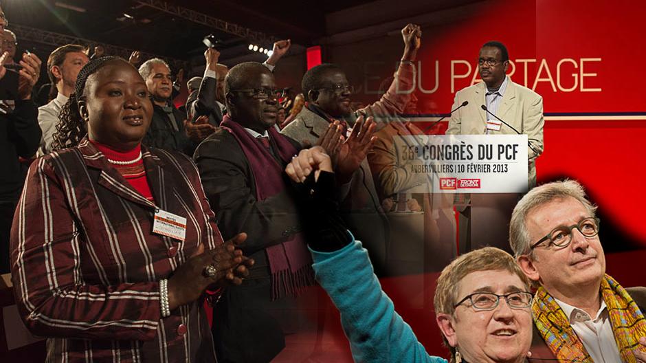 36e congrès du PCF - Invités internationaux (2013)