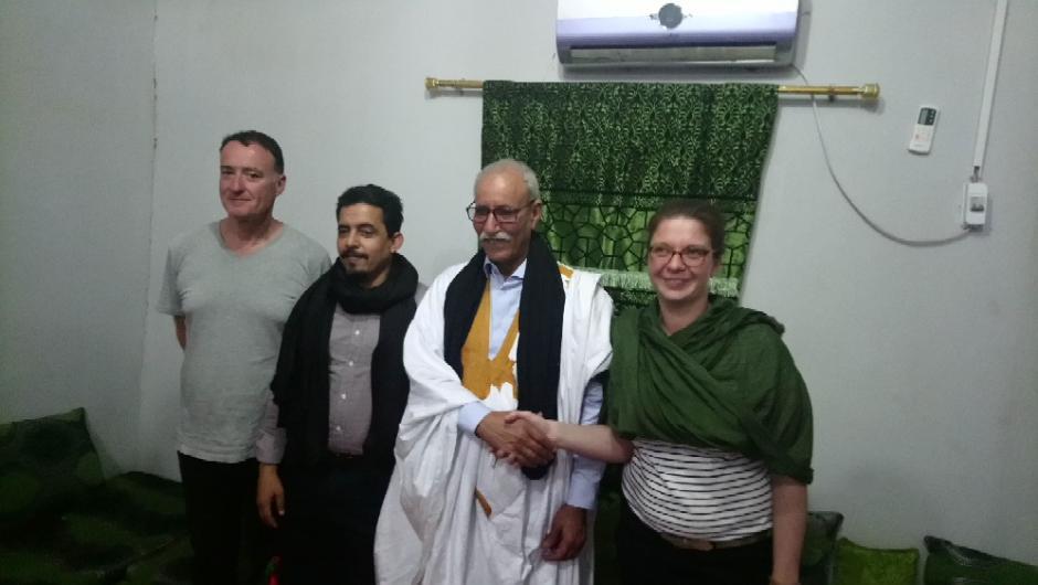 Faire grandir la solidarité avec les Sahraouis jusqu'à l'autodétermination