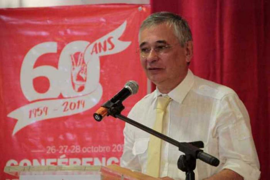 60e anniversaire du Parti communiste réunionnais - Intervention de Denis Rondepierre pour le PCF