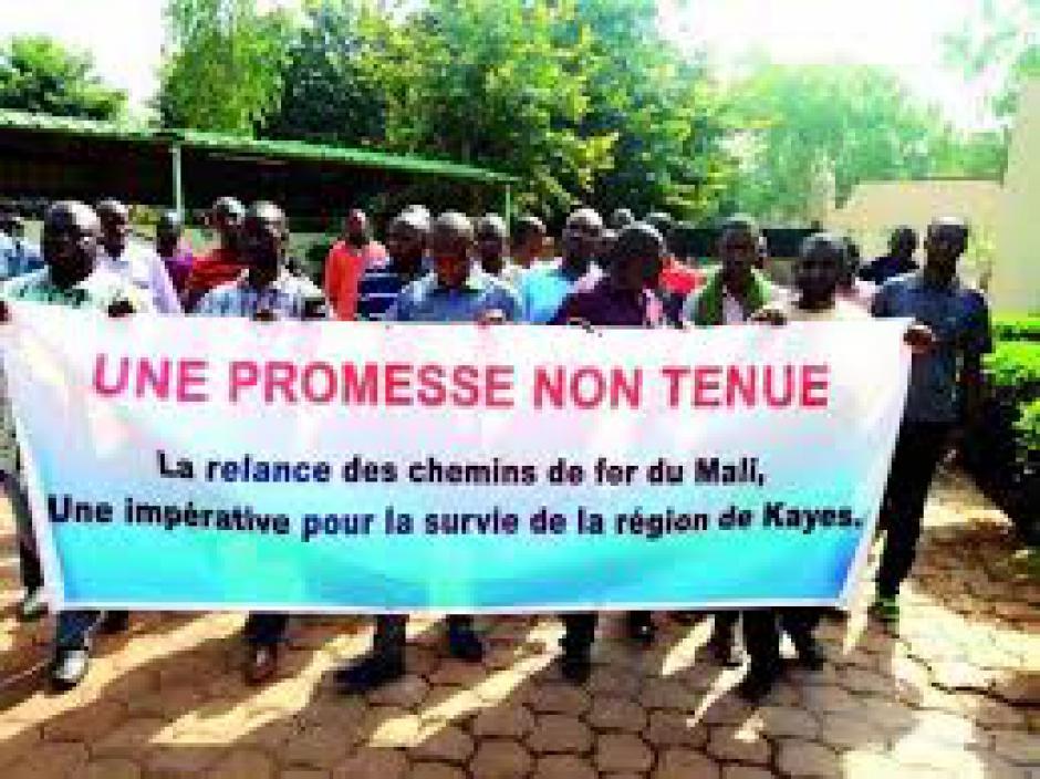 Mali : Solidarité avec les cheminots en grève de la faim pour sauver la ligne Bamako-Kayes (PCF)