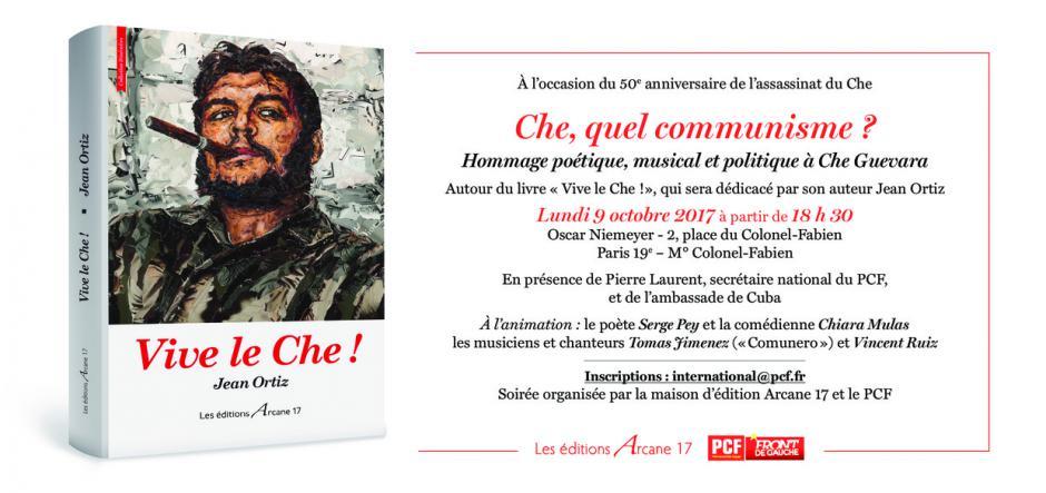 Hommage poétique, musical et politique à Che Guevara
