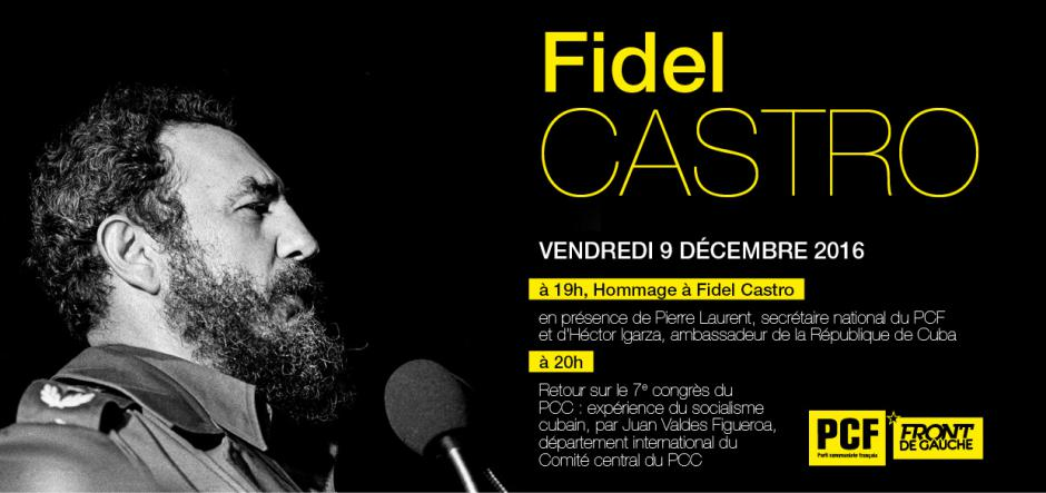 Hommage à Fidel Castro