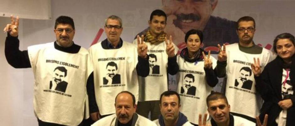 Soutien aux Kurdes grévistes de la faim de Strasbourg