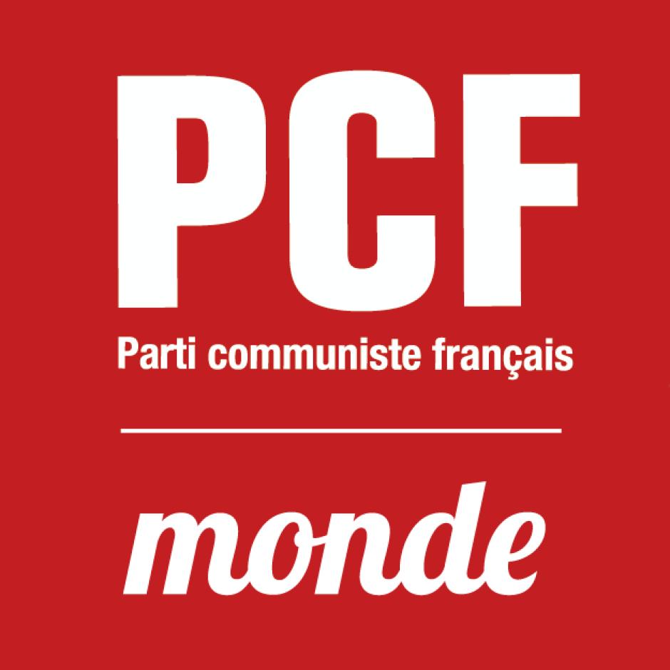Organigramme du secteur International du PCF