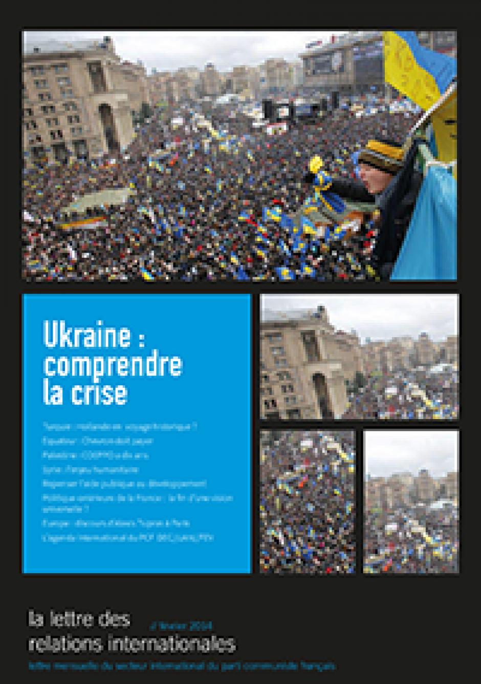 La lettre des relations internationales - février 2014