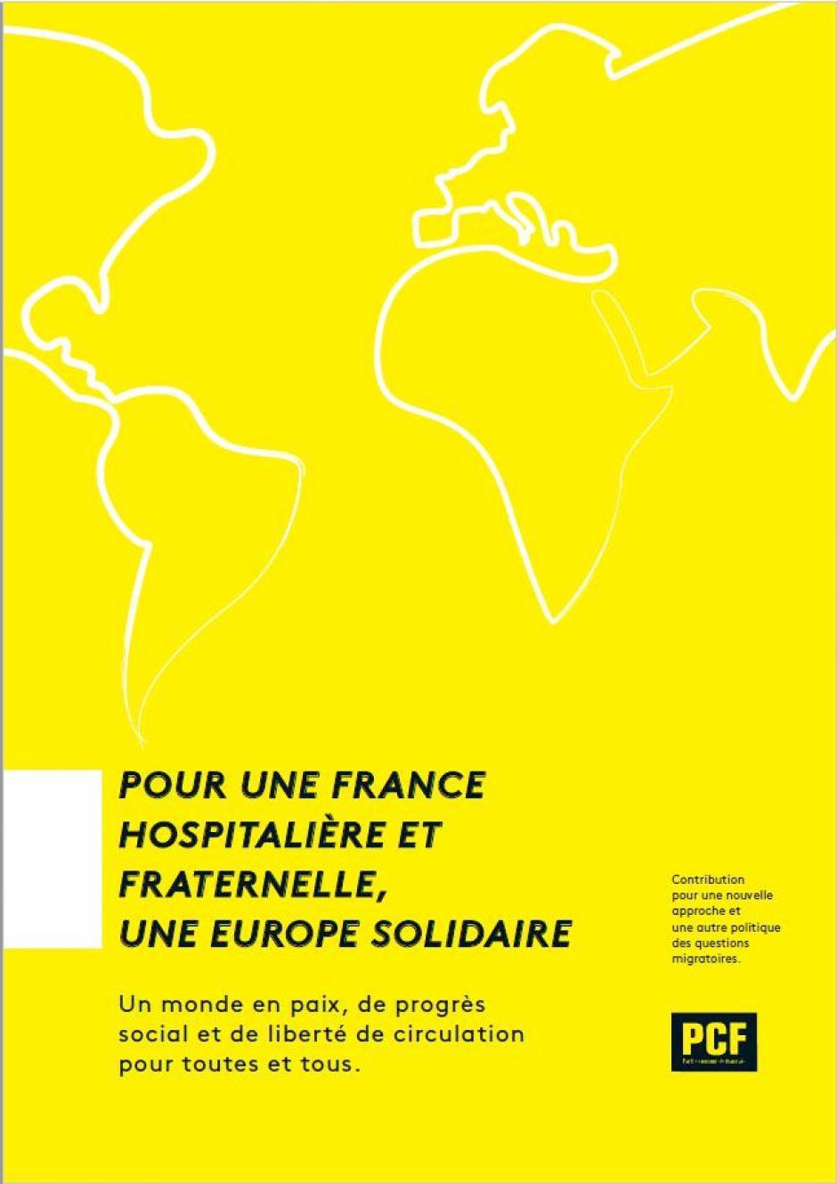 Manifeste - Pour une France hospitalière et fraternelle, une Europe solidaire