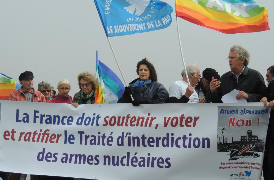La France doit ratifier le traité d'interdiction des armes nucléaires adopté à l'ONU le 7 juillet 2017  !
