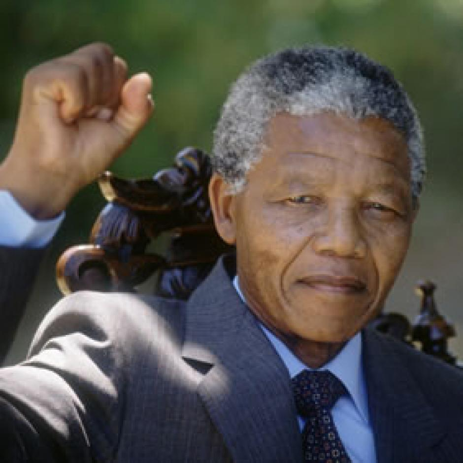 fiche hommes politiques : Nelson Mandela