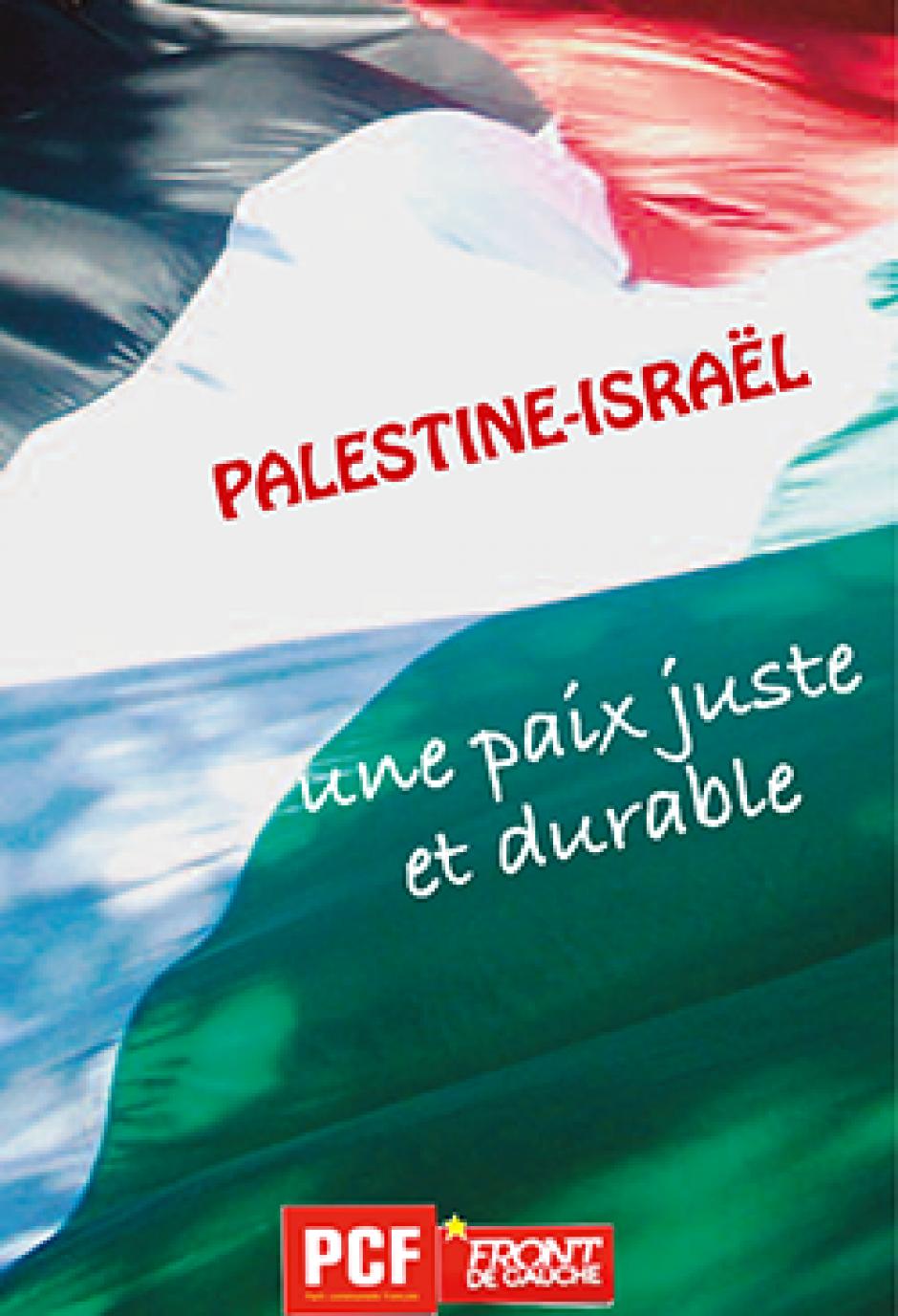 soirée de solidarité avec la Palestine : intervention de P. Le Hyaric