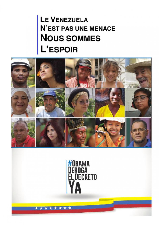 campagne #obamaderogaeldecretoya : solidarité avec le #Venezuela ! (#PCF)