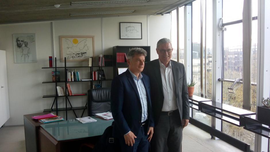 Déclaration commune de Fabien Roussel (PCF) et de Bernd Riexinger (Die Linke) sur les élections européennes