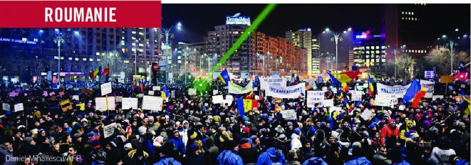 Entre lutte contre la corruption et recomposition de l'appareil d'Etat: les contradictions du mouvement de rue en Roumanie