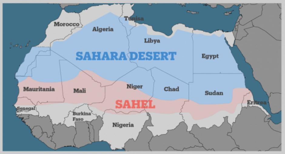 Note - La situation au Sahel