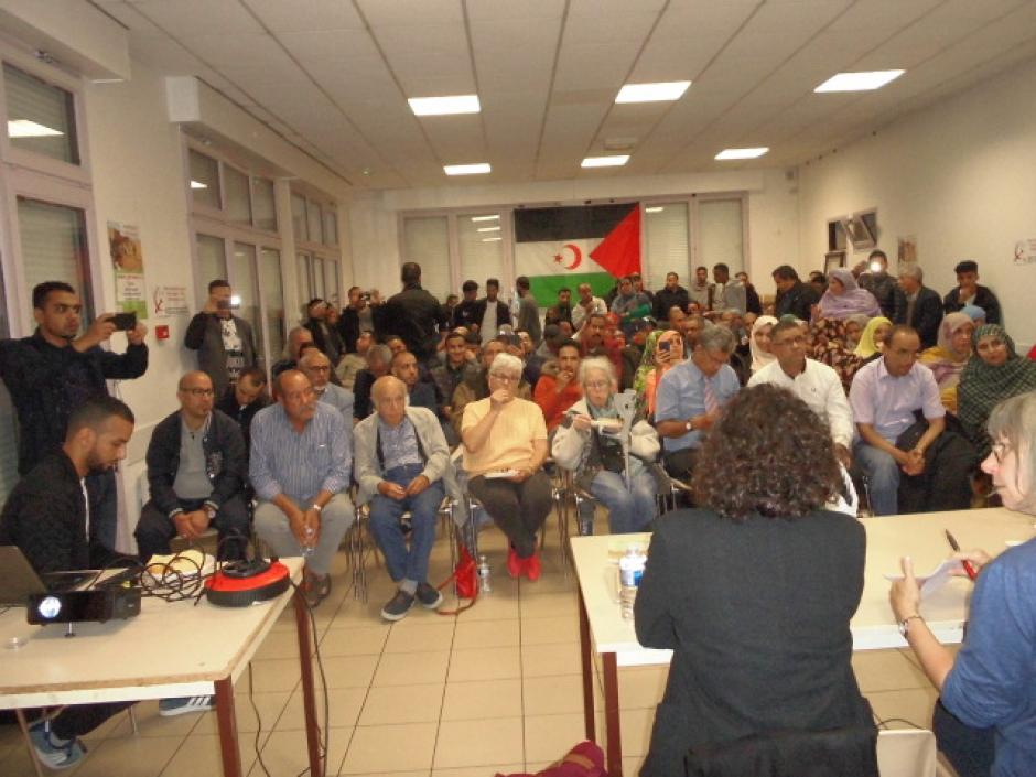 Succès de la soirée de solidarité avec le peuple sahraoui à Mantes-la-Jolie