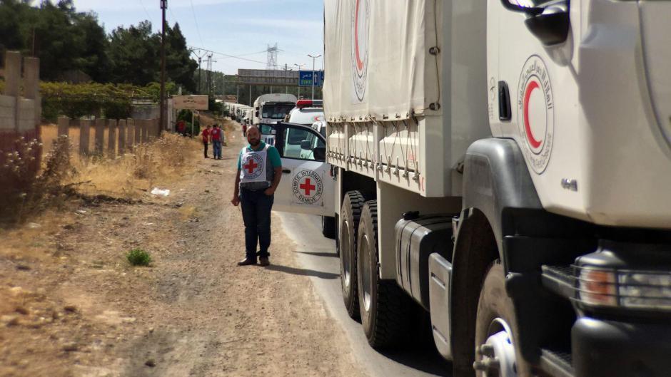 Syrie: pour un cessez le feu sans condition et l'accès aux convois humanitaires