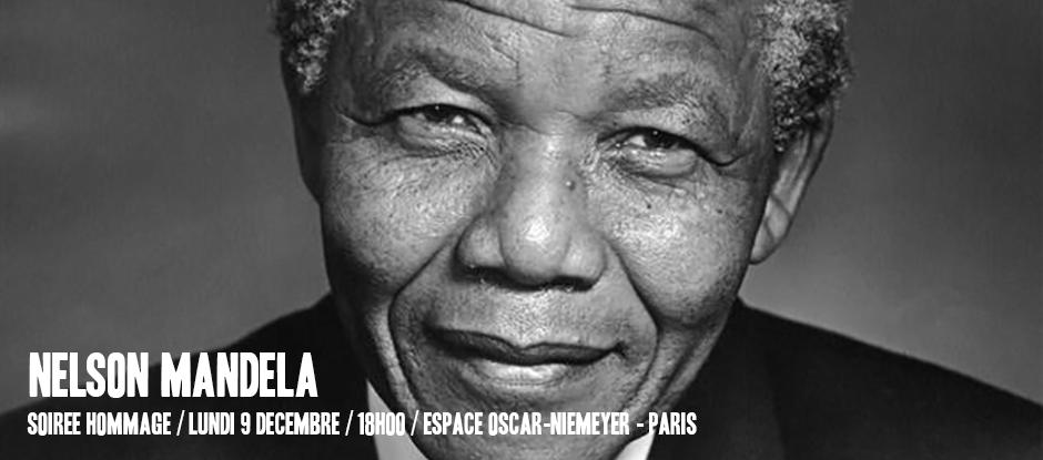 Soirée Hommage à Nelson Mandela