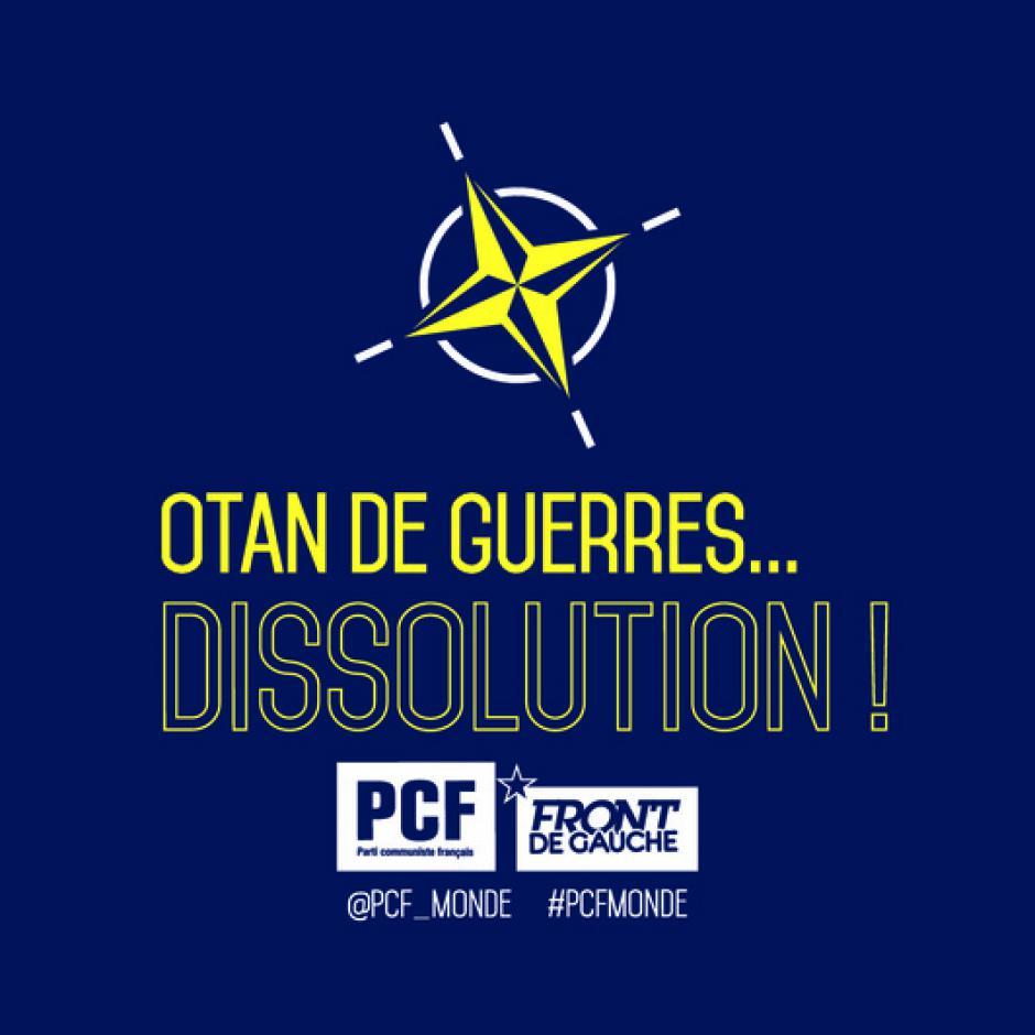 Pour la paix et la sécurité dans le monde, la France doit sortir de l'Otan