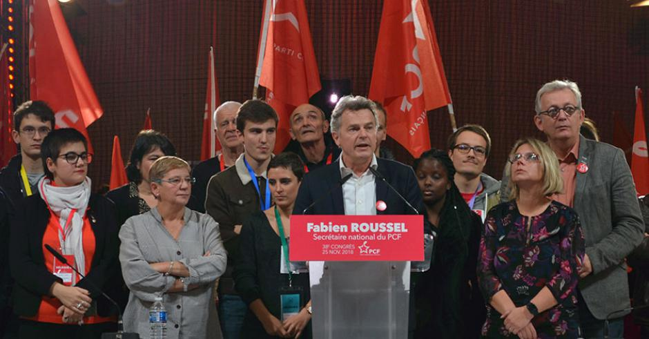 Address by Fabien Roussel, elected National Secretary of the French Communist Party on 25 November 2018.