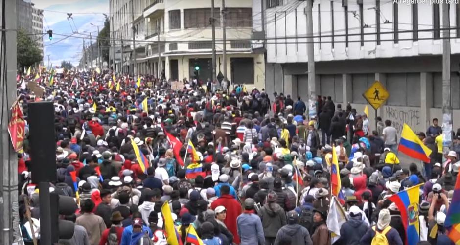 Équateur: un soulèvement populaire contre des réformes néo-libérales de Moreno et du FMI