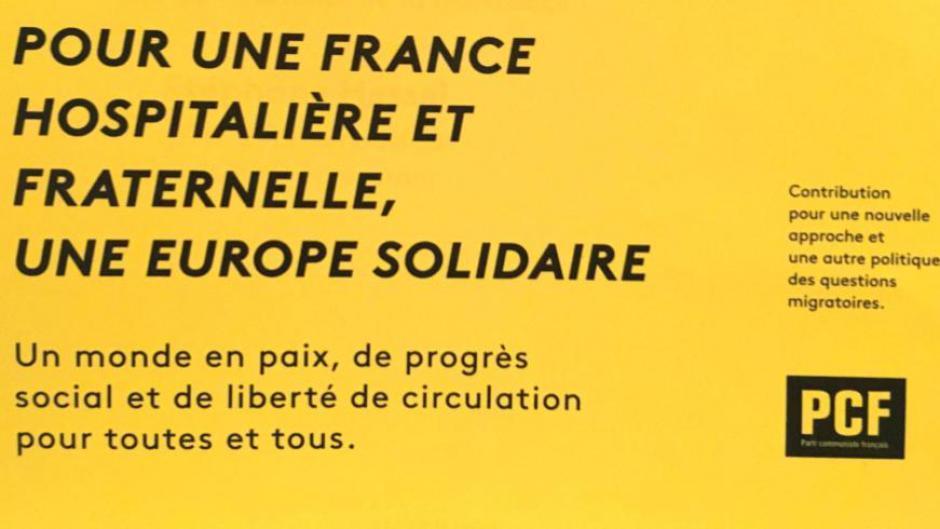 Immigration: Pour une politique migratoire de la France fondée sur le principe d'hospitalité