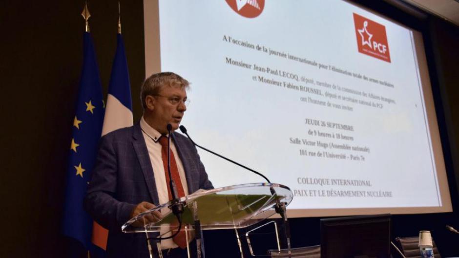 Ouverture du colloque international sur la paix et le désarmement nucléaire