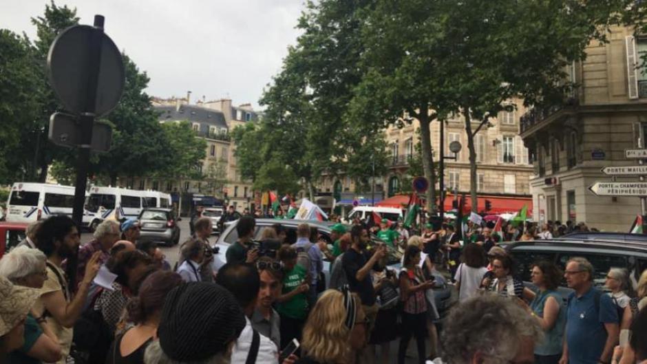 Inauguration de la place Jérusalem à Paris: Indignation et solidarité avec le peuple palestinien